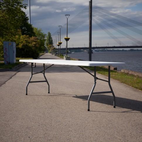 Saliekams furšeta galds | bez galdauta, 240 cm