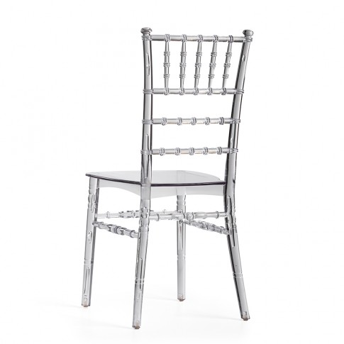 Caurspīdīgs Chiavari krēsls   noma