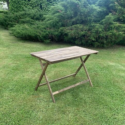 Saliekams koka galds 112 cm | noma