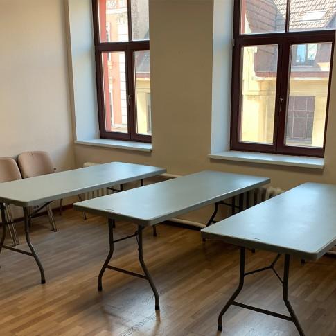 Saliekams galds   bez galdauta, 180 cm   noma