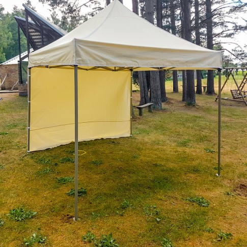 Telts - nojume | krēmkrāsas, 3×3 m