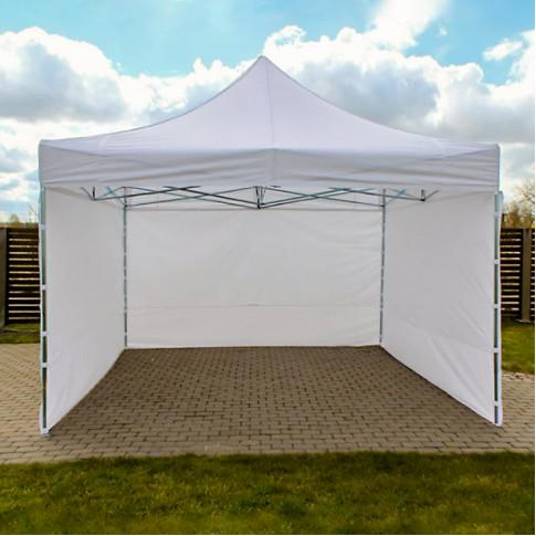 Telts - nojume | balta, 4×4 m