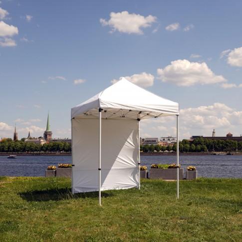 Telts - nojume | balta, 2×2 m