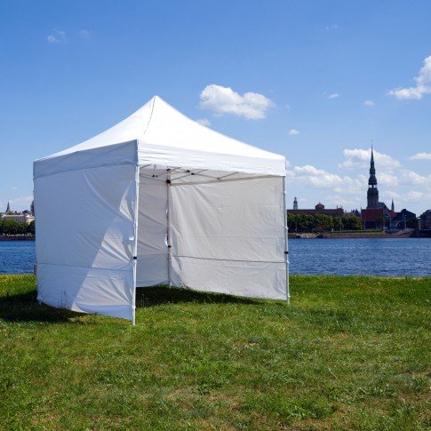 Telts - nojume | balta, 3×3 m | noma